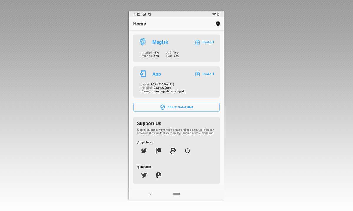 Android rooten mit Magisk