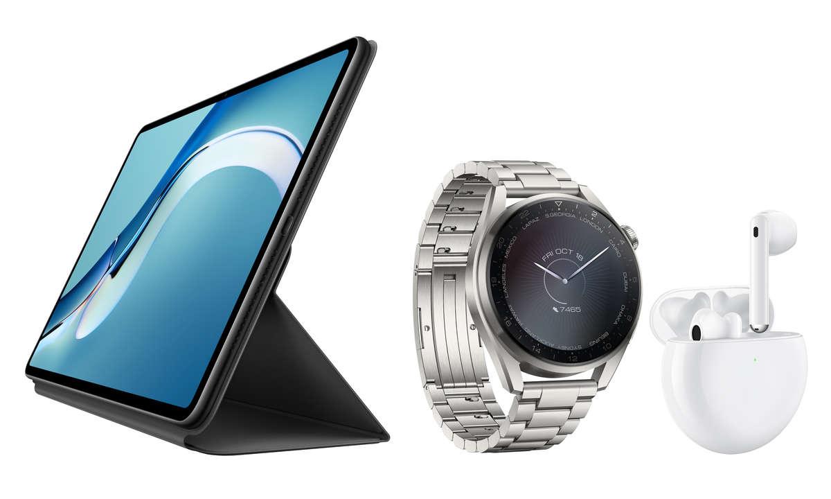 Neue Tablets und Wearables von Huawei
