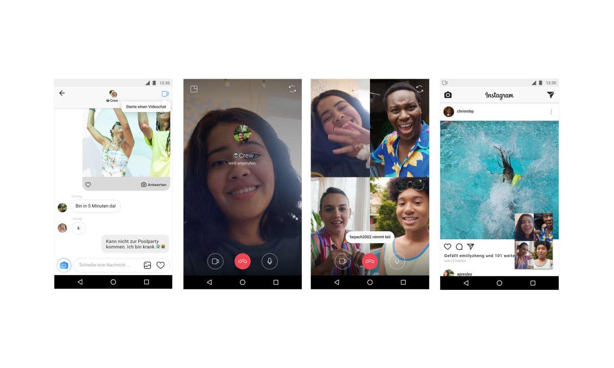 Instagram-Gruppenchat