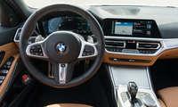 Connectivity Test hybride Mittelklasse 2021 BMW 3er Cockpit