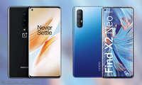 Smartphones unter 500 Euro: Oneplus 8 und Oppo Find X2 Neo