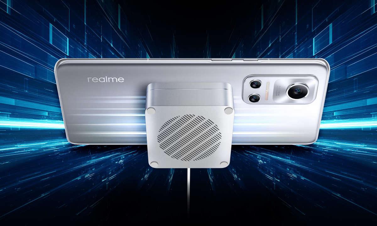 Realme Flash mit MagDart-Ladegerät
