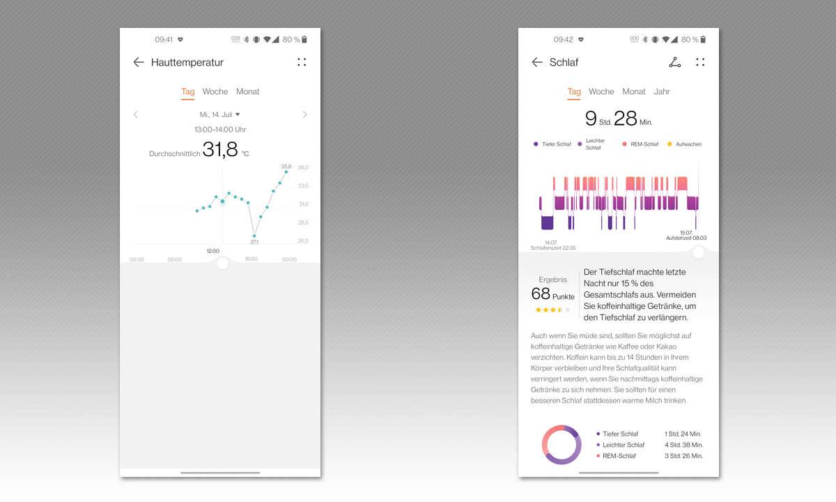 Huawei Watch 3 Pro im Test - Screenshots