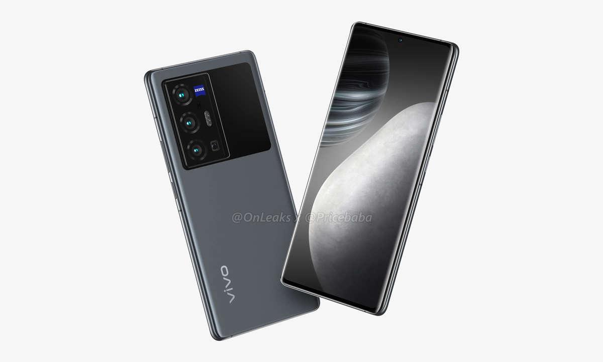 Vivo X70 Pro+ Render von OnLeaks