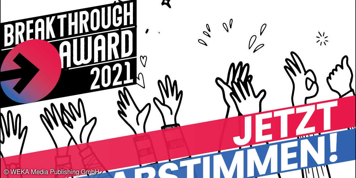 BREAKTHROUGH AWARD 2021