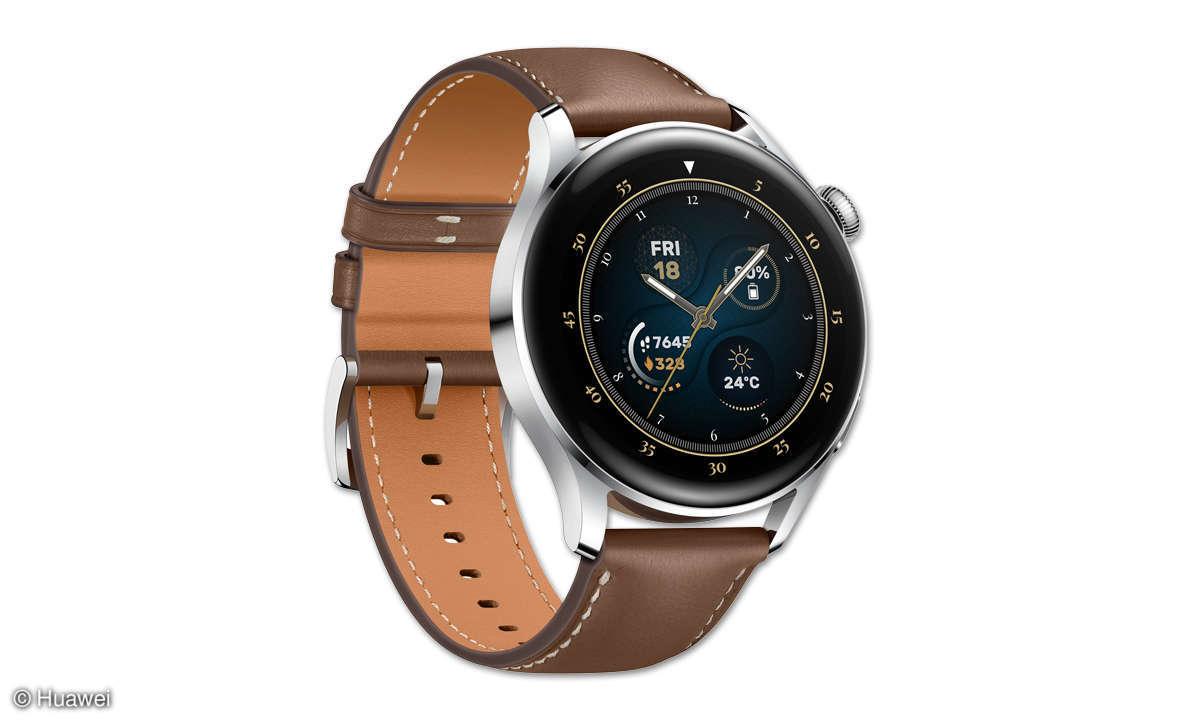 Huawei Watch 3 im Test: Kompakter Profi