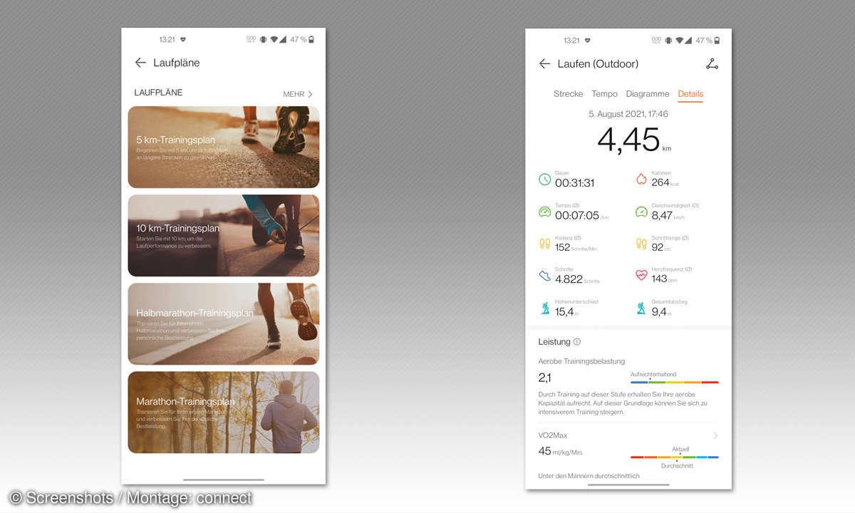 Huawei Watch 3 im Test: Screenshots