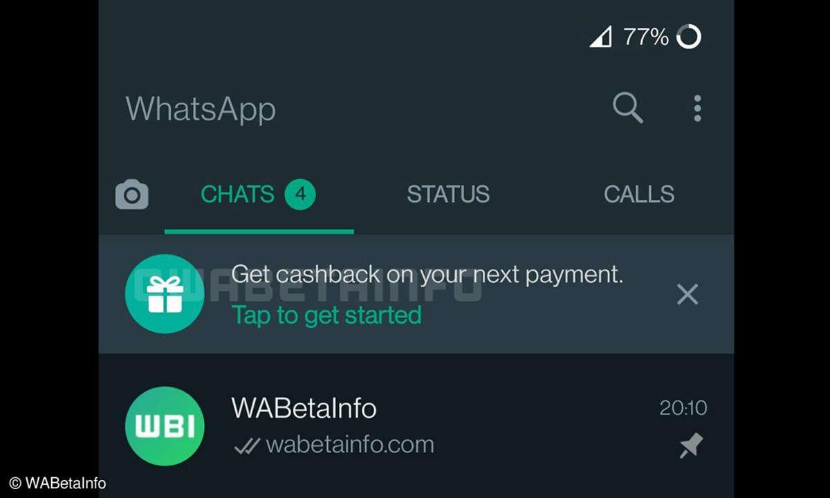 WhatsAPp-Cashback