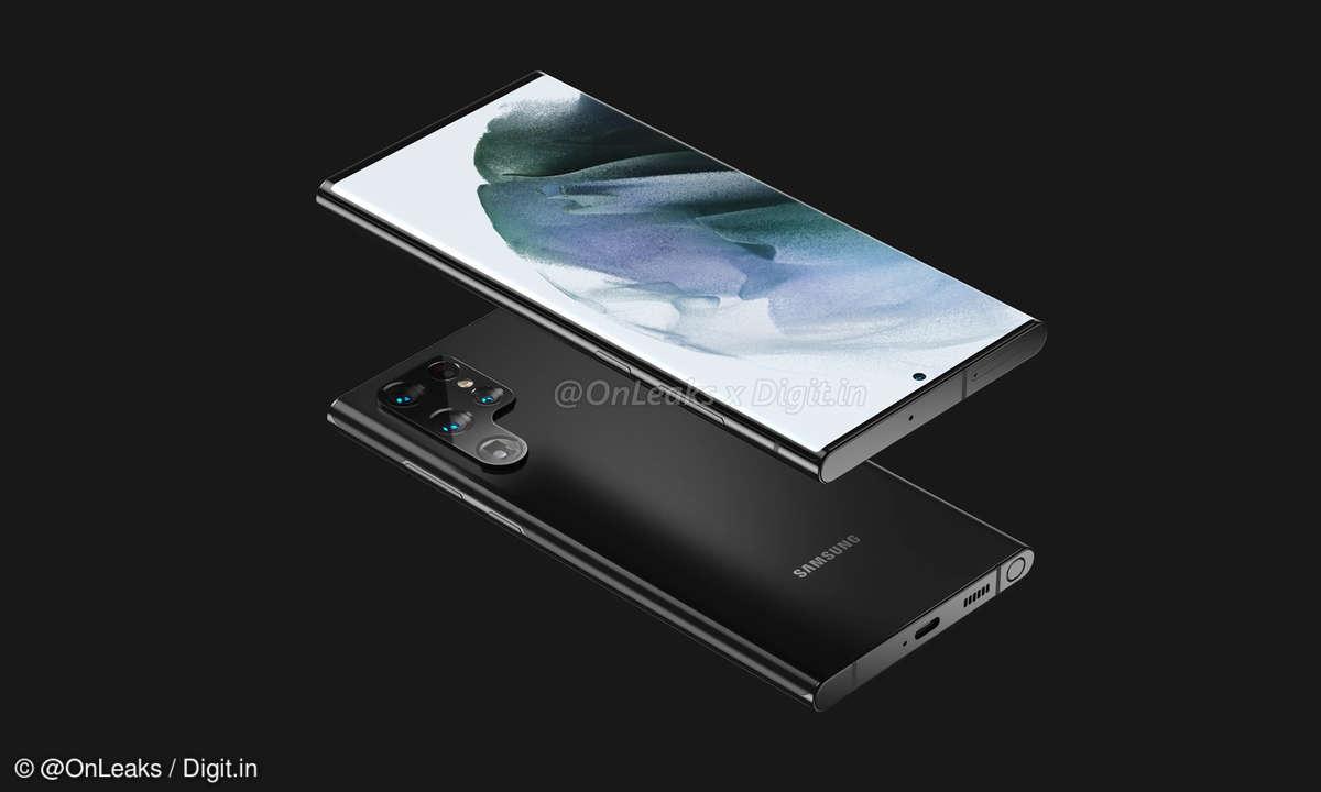 Samsung Galaxy S22 Ultra von OnLeaks