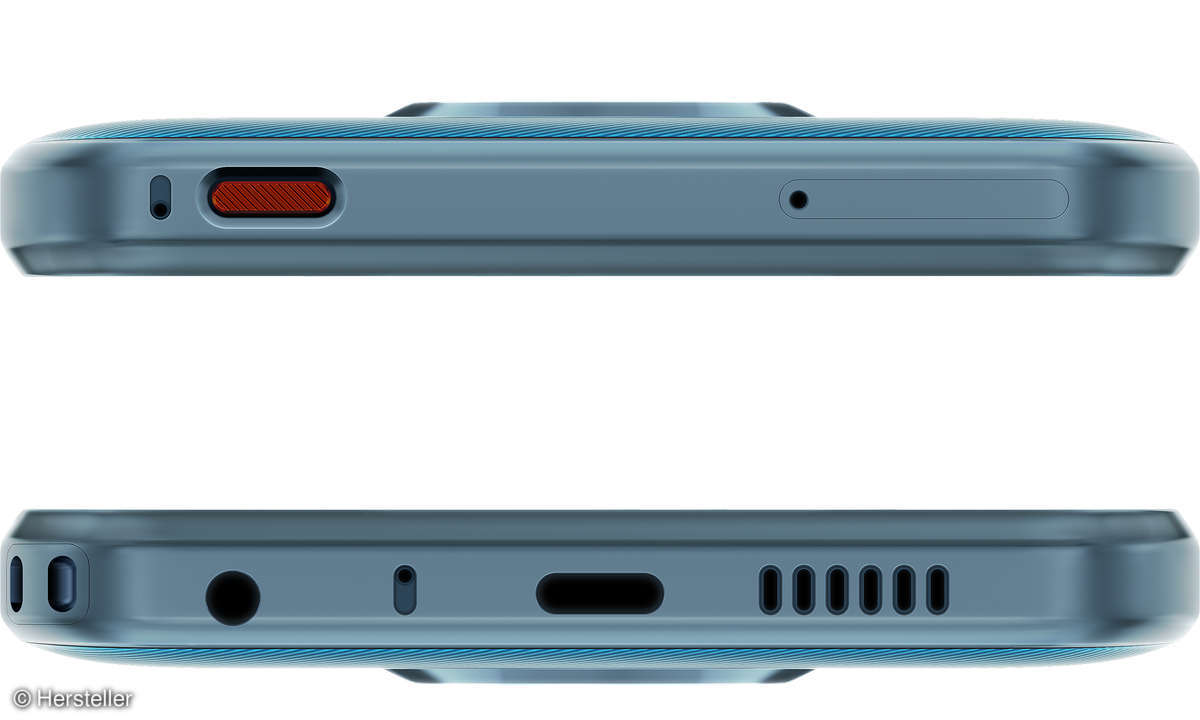 Nokia XR20 Ober-und Unterseite