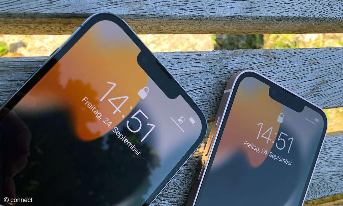 iPhone 13 Pro Max und iPhone 13