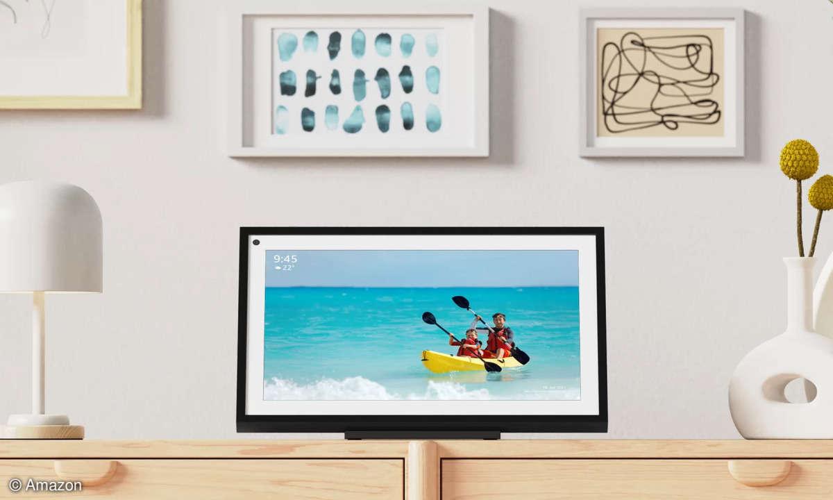 Der Echo Show 15 ist das bislang größte Smart-Display von Amazon.