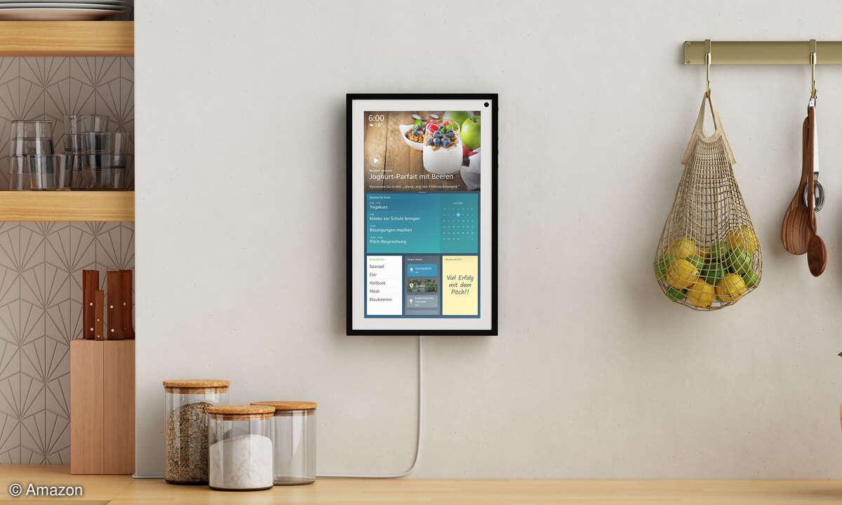 Amazon Echo Show 15: Das smarte Display soll als Zentrale für den ganzen Haushalt dienen.