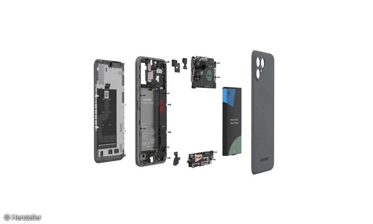 Fairphone 4 austauschbare Komponenten