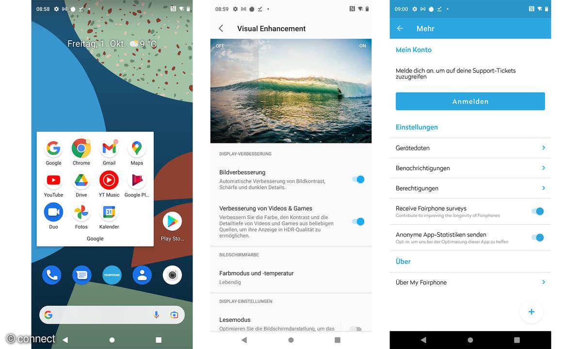 Fairphone 4 Screenshots