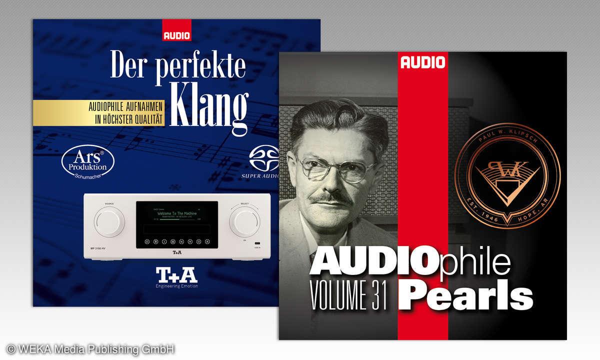 CD-Cover von AUDIO zum Download
