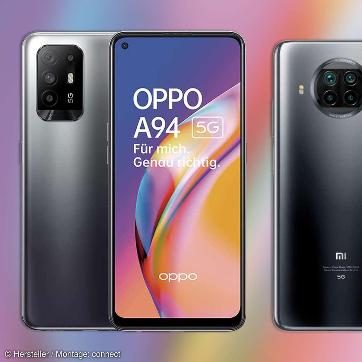 Oppo A94 5G und Xiaomi Mi 10T Lite 5G