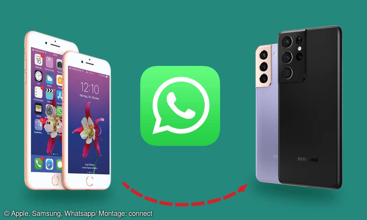 Whatsapp-Chats iPhone zu Samsung