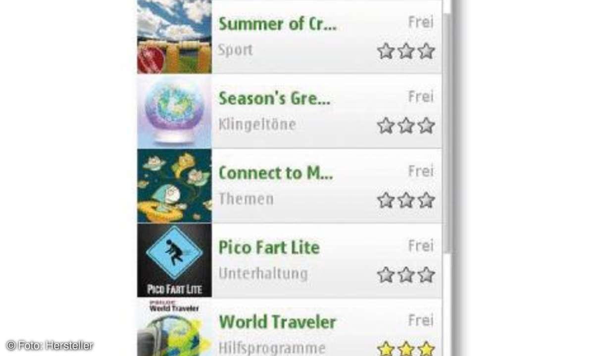 Nokia N97 mini Onlineshop