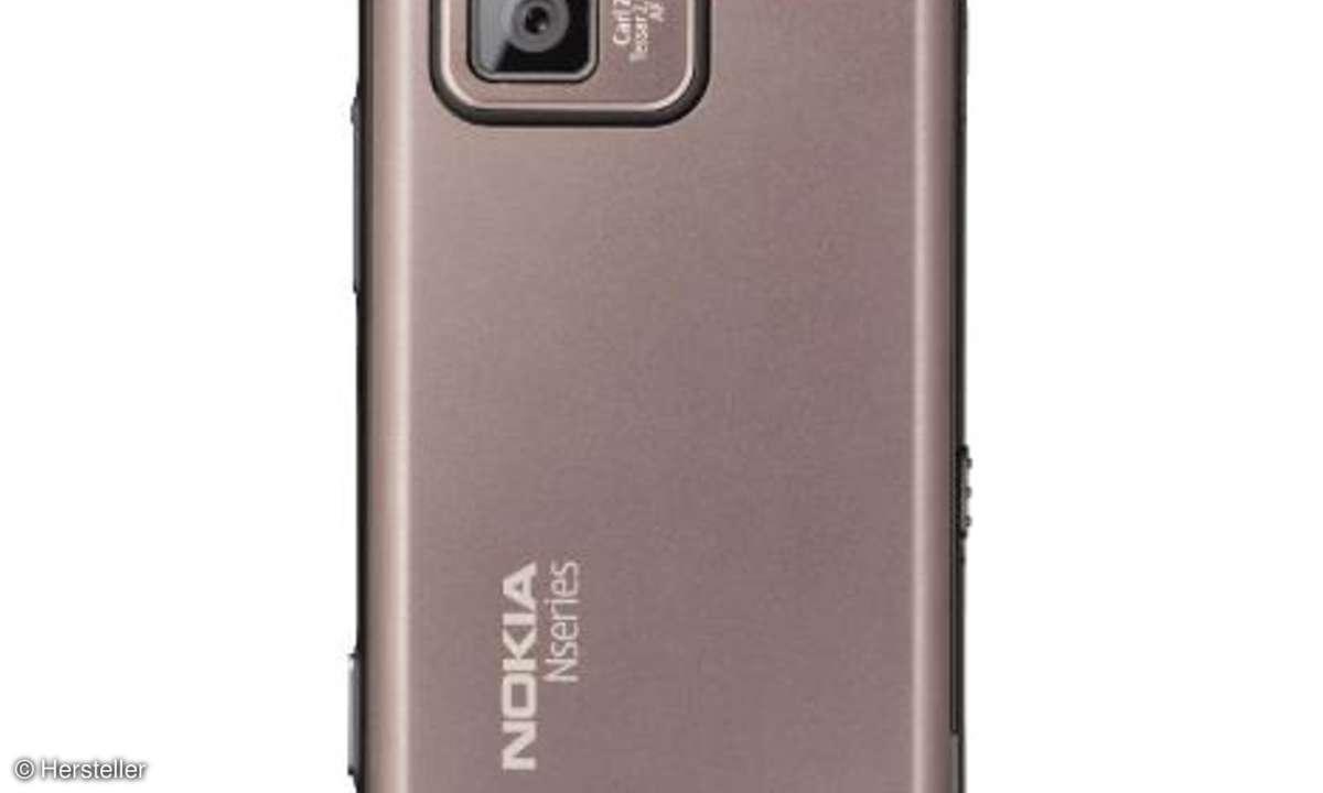 Nokia N97 mini Kamera