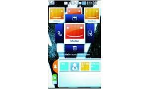 Screen LG KP500