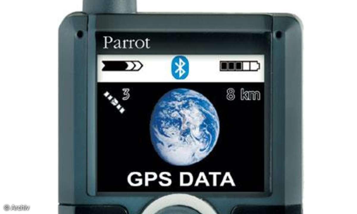 Testbericht Parrot 3400 LS-GPS COLOR
