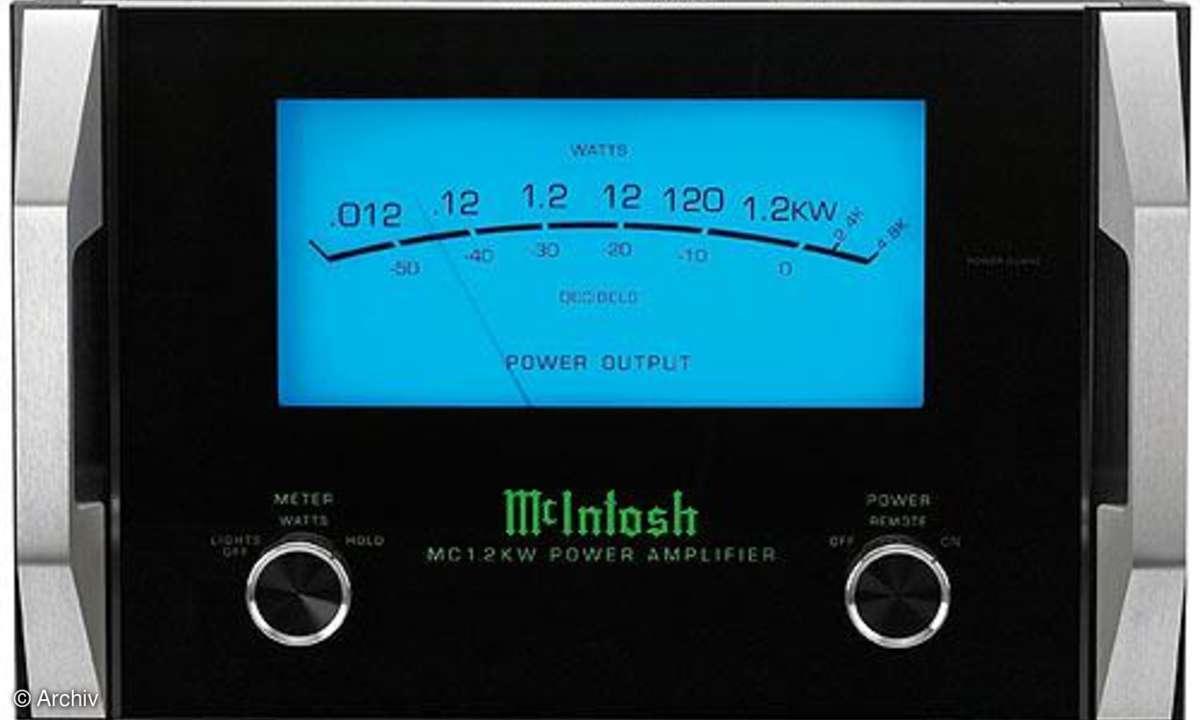 Endverstärker McIntosh MC 1.2 KW AC