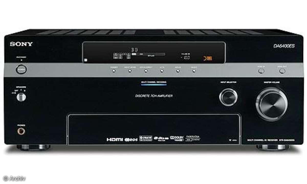 AV-Receiver Sony STR DA 6400 ES