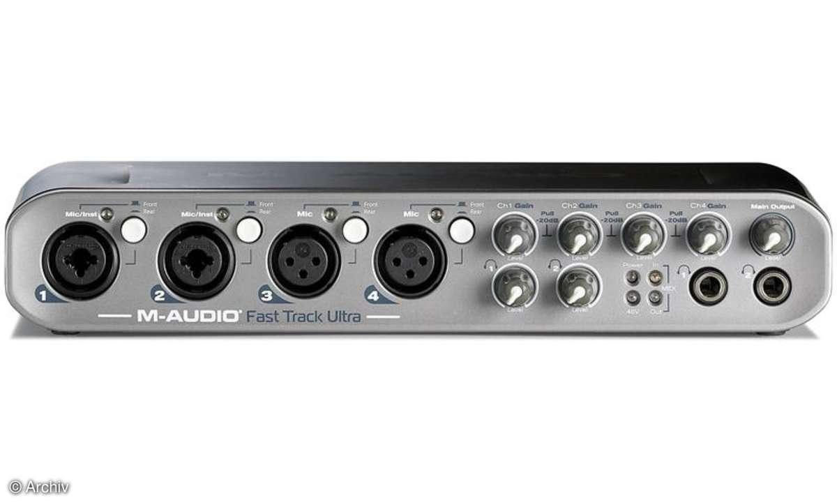 Digital/Analog-Wandler M-Audio Fast Track Ultra