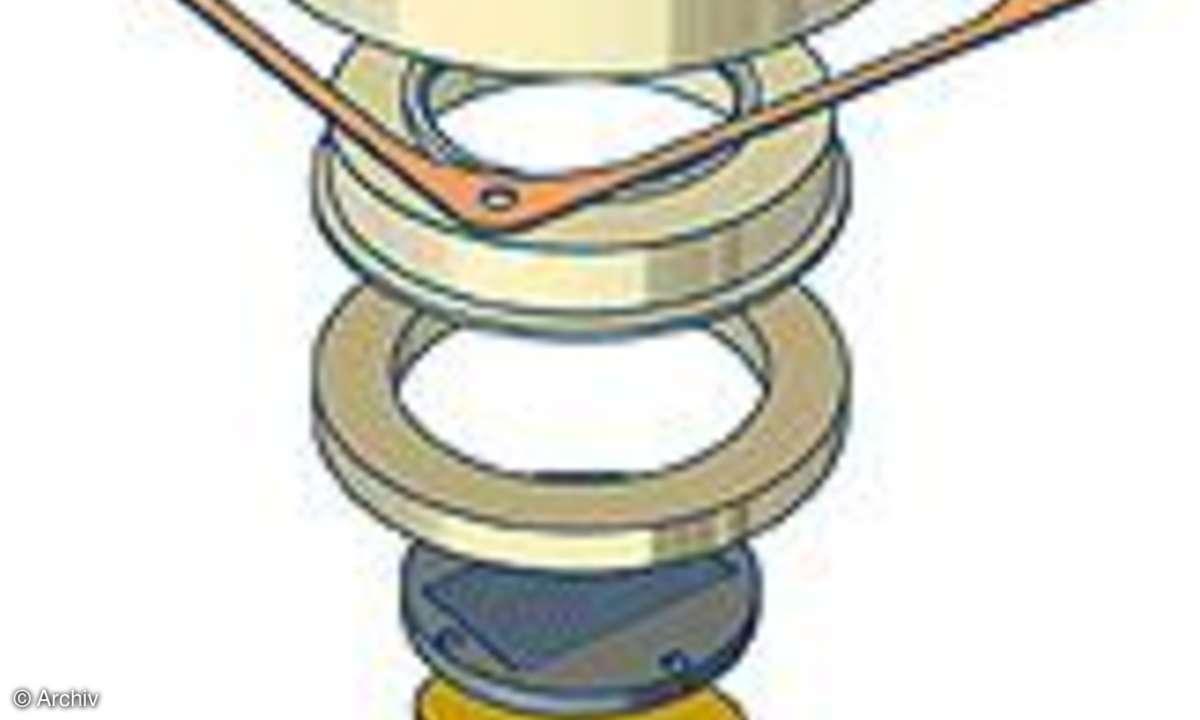Elac BS 602 X-JET schematischer Aufbau