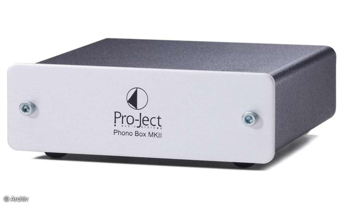 Phono-Vorverstärker Pro-Ject Phono Box Mk II
