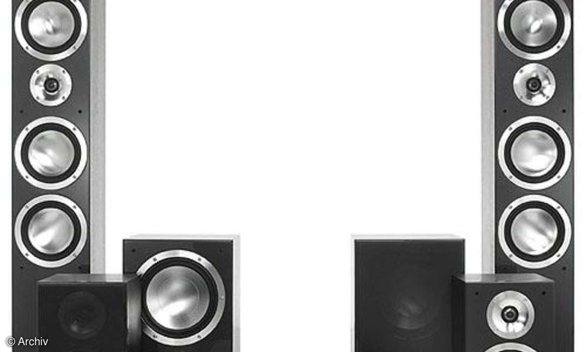 Surroundlautsprecher-Set Canton Chrono 509 DC, 505 Center/2x AS 525 SC