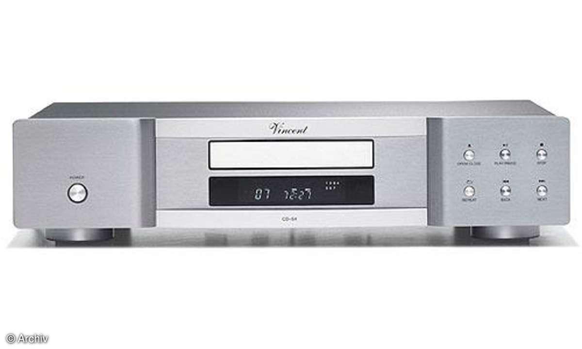 CD-Spieler Vincent CD S 4