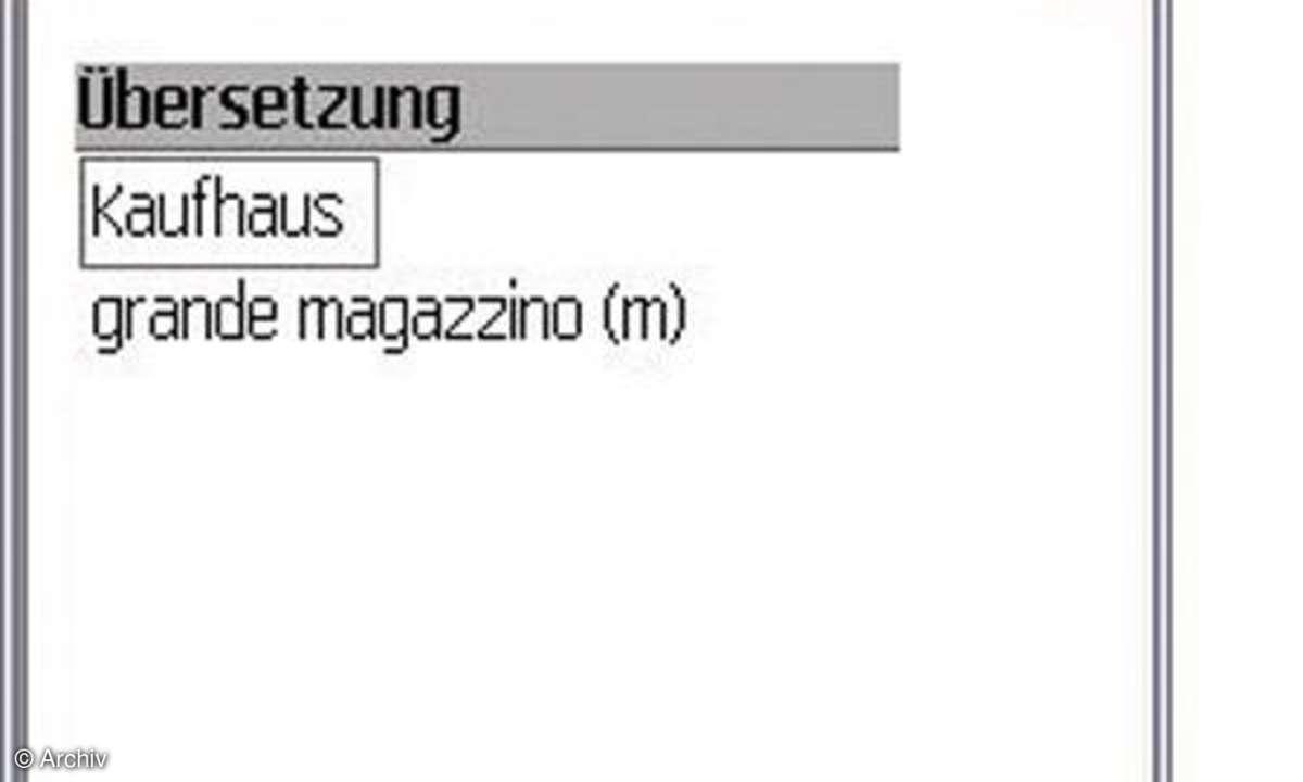 Pons-Wörterbuch