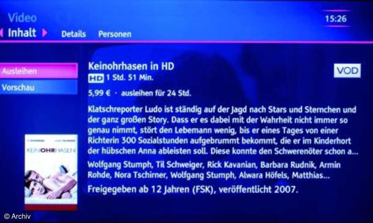 TV goes Internet mit T-Entertain von T-Home