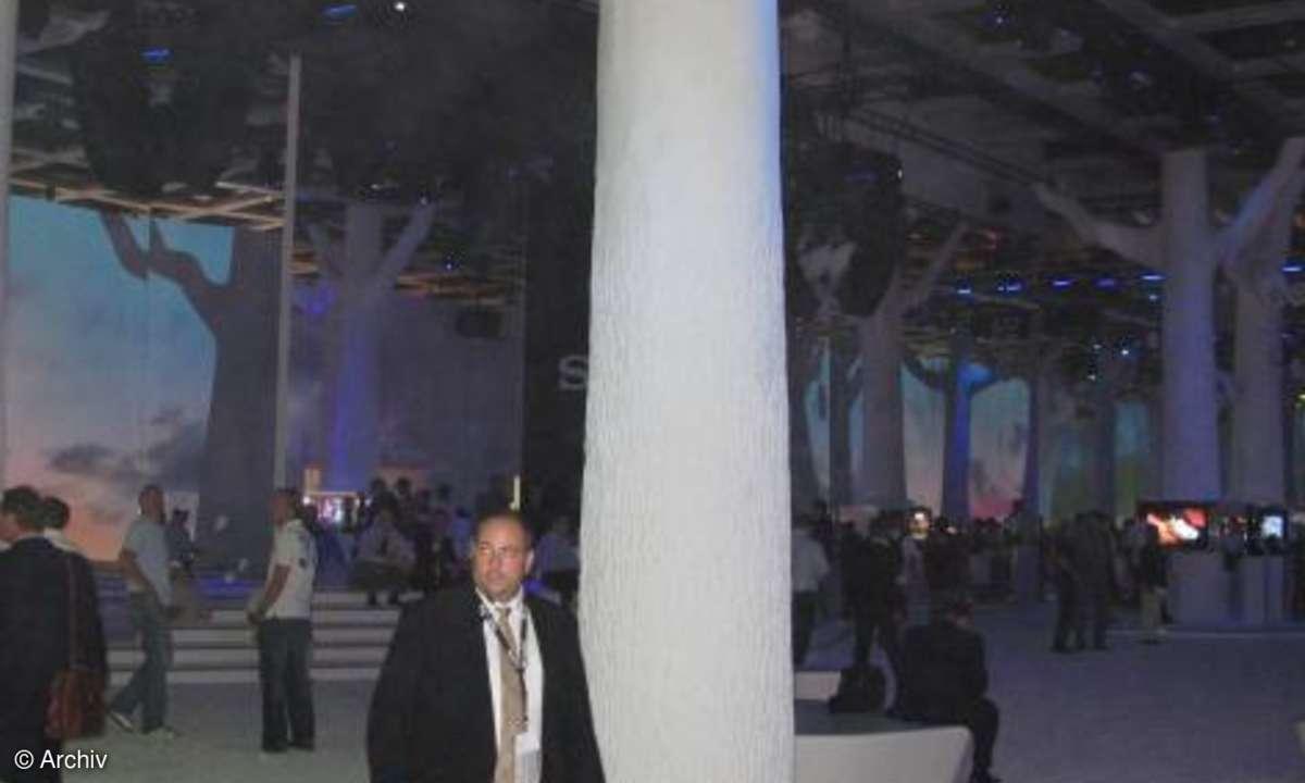 Sony IFA-Auftritt 2008