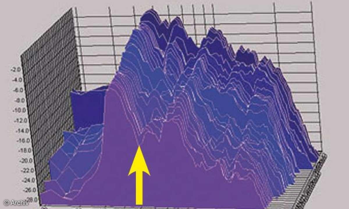 Wasserfalldiagramm vorher
