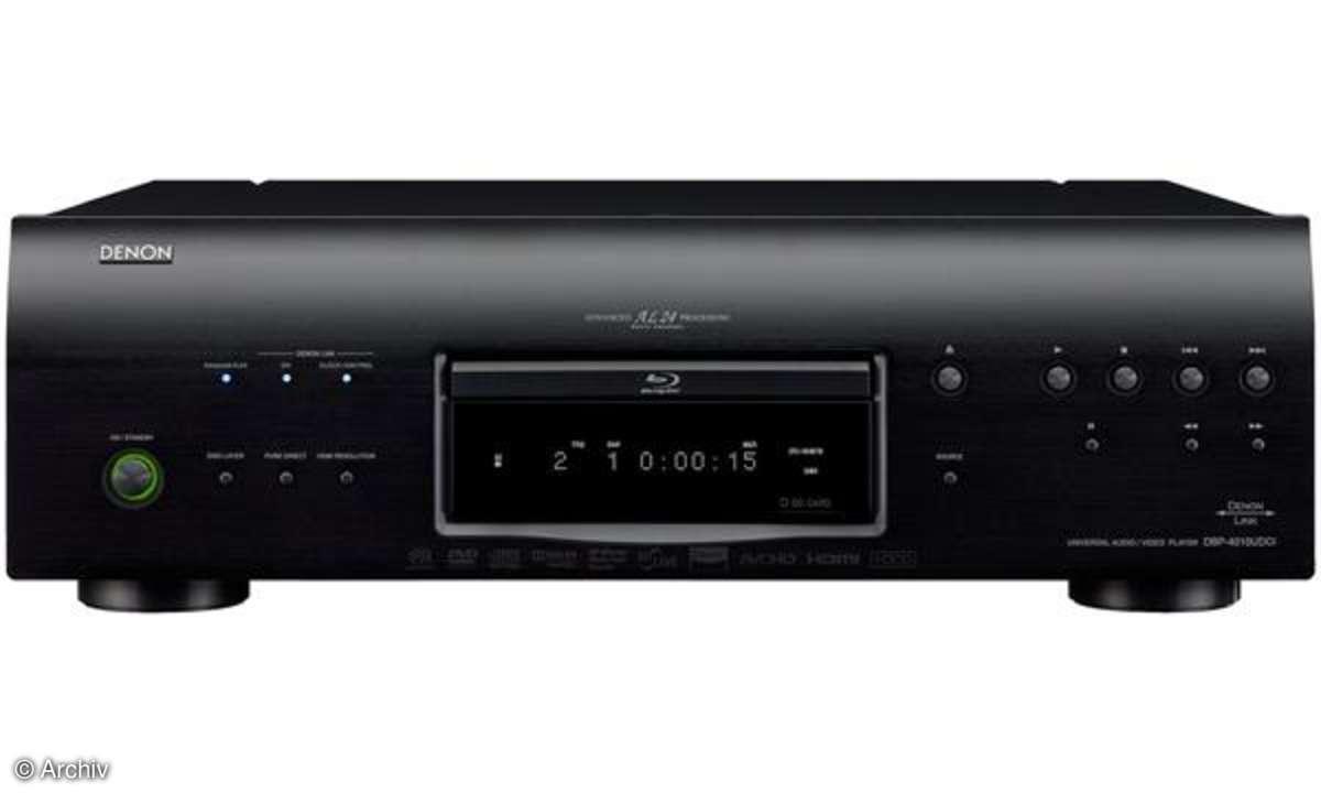 Neuer Universal-Blu-ray-Player von Denon: DBP 4010 UD