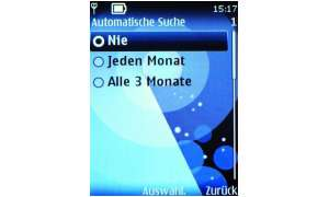 Screen: Automatische Software-Updates