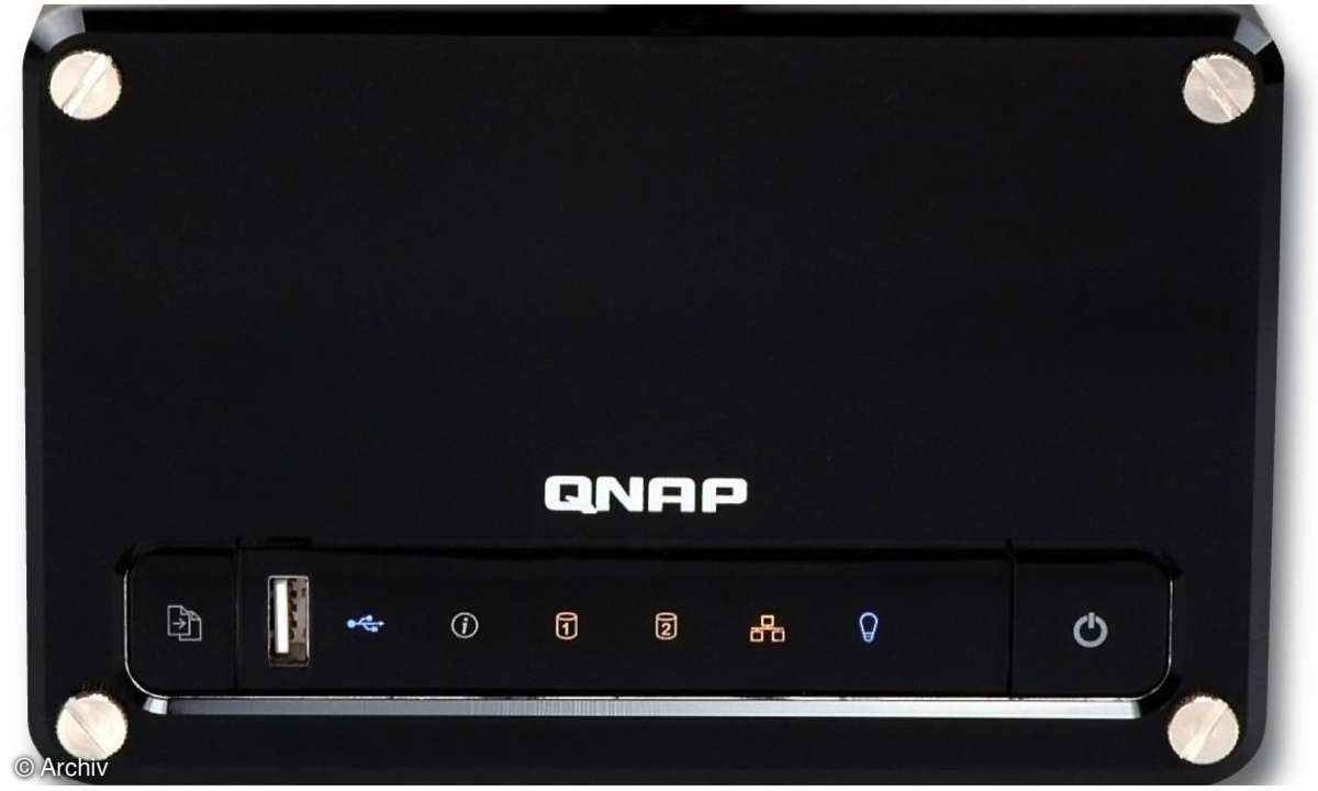 QNAP NAS Festplatte