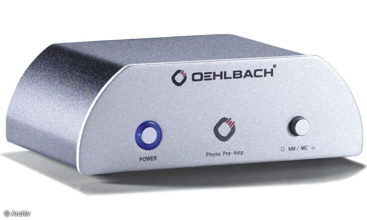 Phono-Vorverstärker Oehlbach XXL Phono Pre Amp