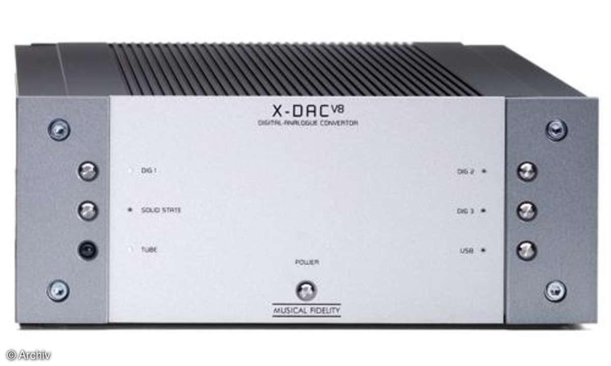 D/A-Wandler Musical Fidelity X-DAC V 8