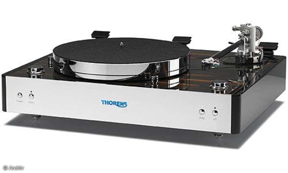 Plattenspieler Thorens TD 550 + TP 125