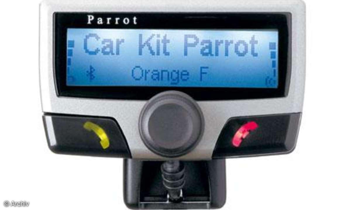 Testbericht Parrot CK 3500 PRO