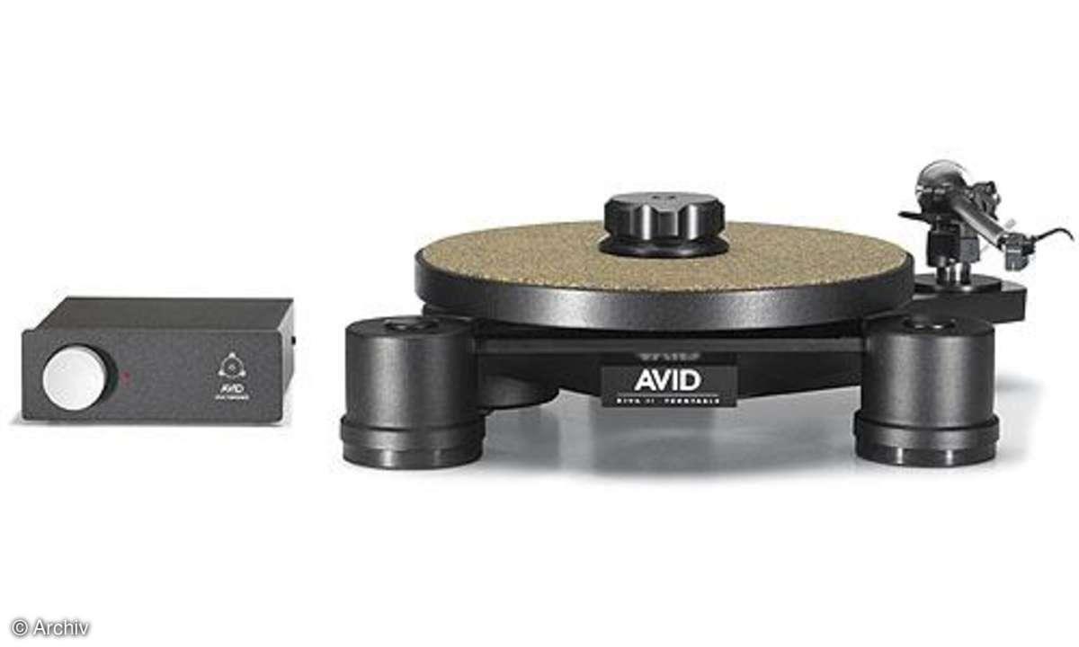 Plattenspieler Avid Diva II + RB 300