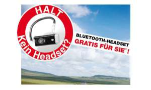 Bluetooth-Headset Black Tube von Pearl