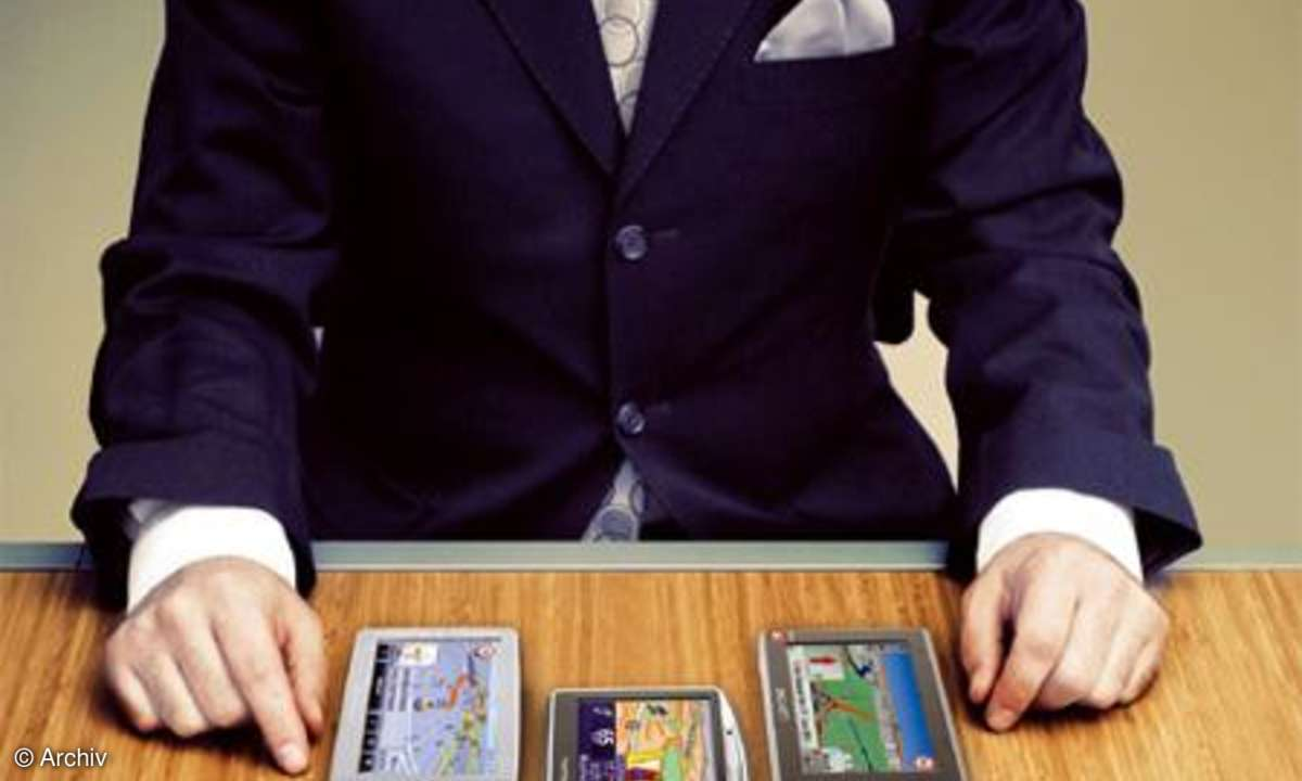 Kaufberatung mobile Navigationsgeräte