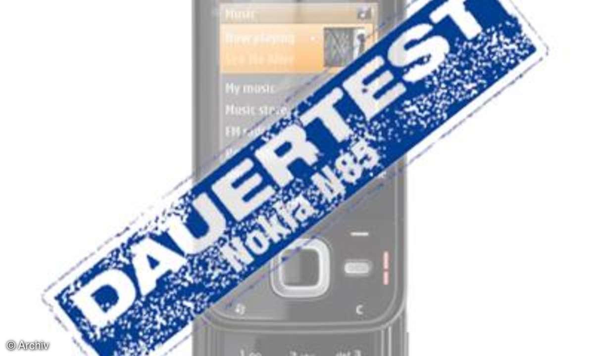 Dauertest Nokia N85