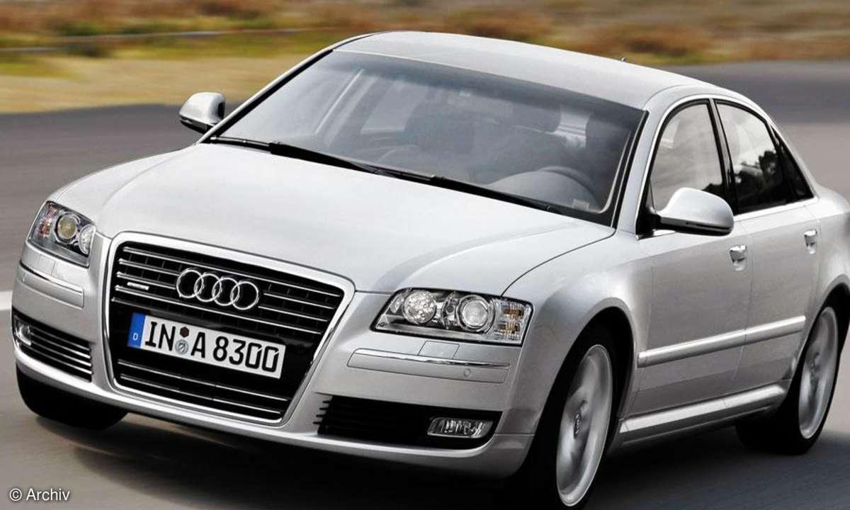 Audi A8 mit MMI