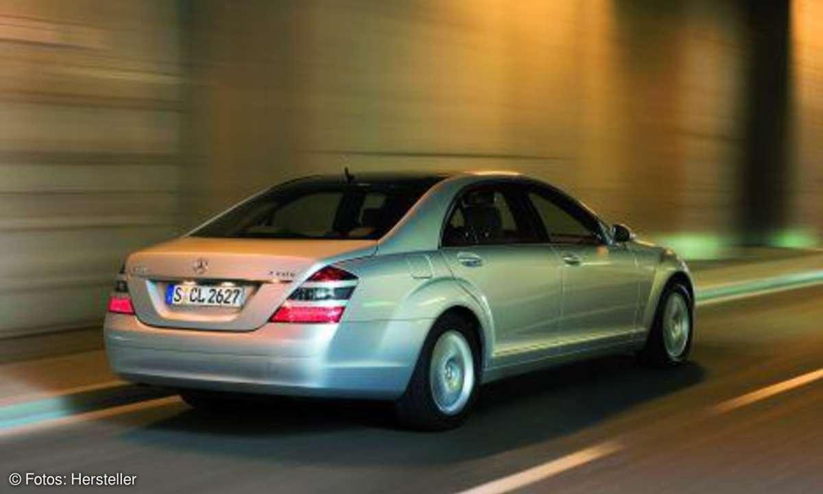 Mercedes S-Klasse Command APS